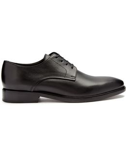 Smooth-leather Derby Shoes
