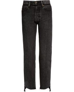 X Levi's Reworked Straight-leg Jeans