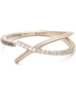 Diamond & White-gold Ring