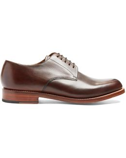 Curtis Leather Derby Shoes