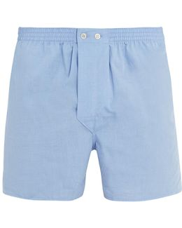 Braemar Cotton-poplin Boxer Shorts
