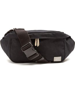 Beat Cotton-canvas Belt Bag