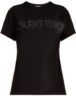 Tom Of England-print Cotton T-shirt