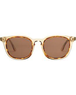 Soapy Rectangle-frame Sunglasses