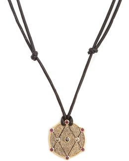 X Kate Moss Diamond, Ruby & Gold Necklace