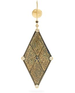 X Kate Moss Diamond & Gold Earring