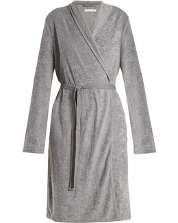 French Terry-towelling Robe
