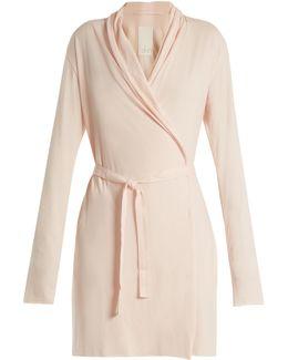 Pima-cotton Jersey Robe
