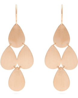 Rose-gold Chandelier Earrings