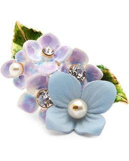 Hydrangea Embellished Ring