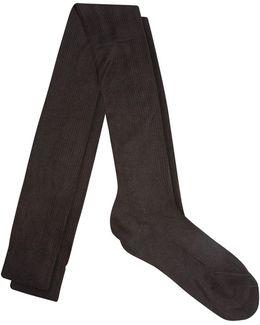 Over-the-knee Silk Socks