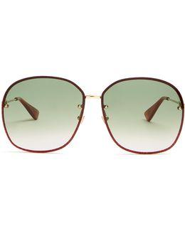 Glitter-embellished Sunglasses
