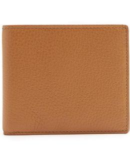 Burlington Bi-fold Grained Leather Wallet