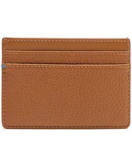 Burlington Grained-leather Cardholder
