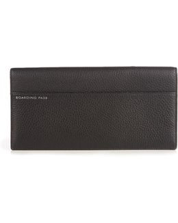 Burlington Leather Travel Wallet