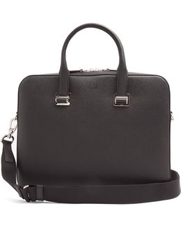 Cadogan Grained-leather Briefcase