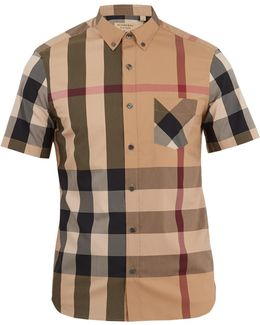 Thornaby House-check Cotton-blend Shirt