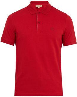 Oxford Cotton-piqué Polo Shirt