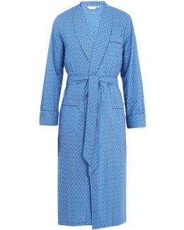 Ledbury Cotton-poplin Robe