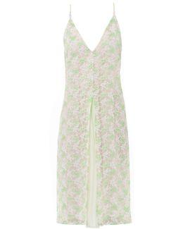 Crocodile-clip Lace Dress