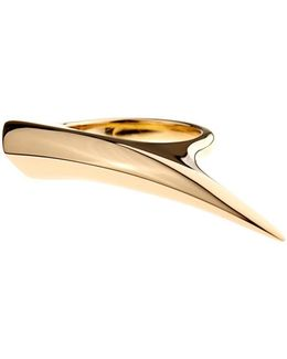 Yellow-gold Sabre Ring