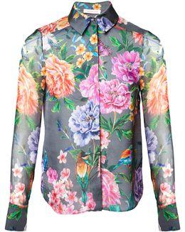 Duchess Garden Grey Silk Shirt