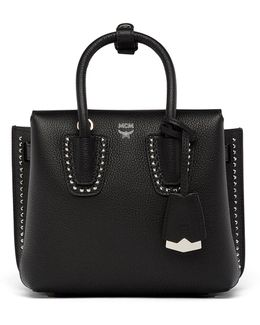 Milla Tote In Studded Outline