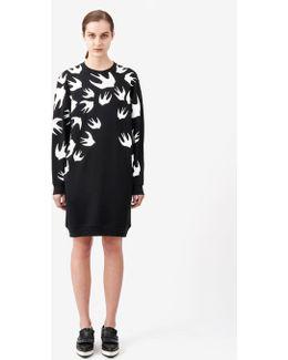 Swallow Signature Sweatshirt Dress
