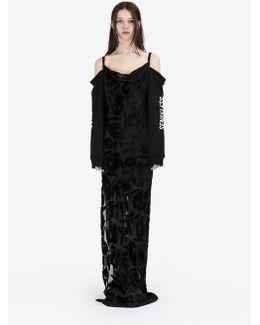 Long Dévoré Camisole Dress
