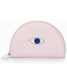 Half Moon Wallet Blush Pink