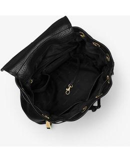 Viv Large Leather Backpack