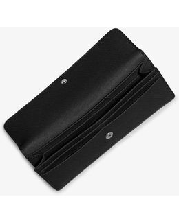 Jet Set Travel Saffiano Leather Wallet