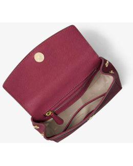 Ava Extra-small Saffiano Leather Crossbody
