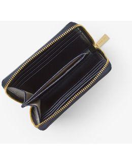 Jet Set Travel Patent-leather Card Holder