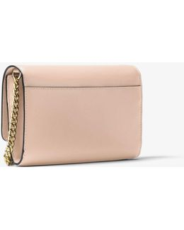 Mott Extra-large Leather Clutch