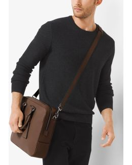 Bryant Large Leather Briefcase
