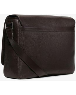 Bryant Large Leather Messenger