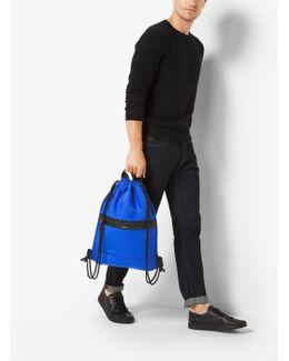 Kent Nylon Drawstring Backpack