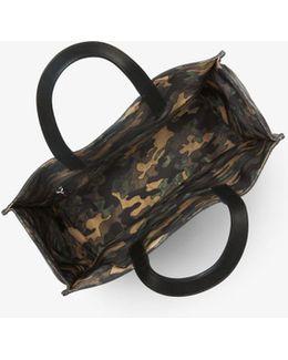 Kent Reversible Camouflage Nylon Tote