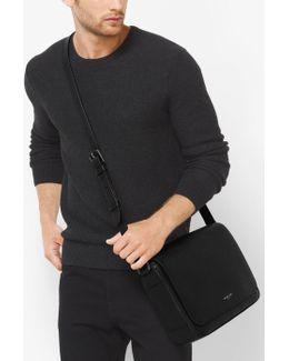 Bryant Medium Leather Messenger