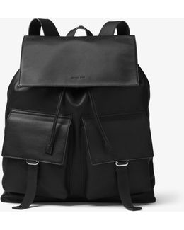 Runway Leather Backpack
