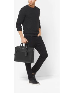 Harrison Large Leather Briefcase