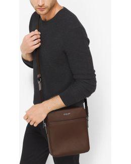 Harrison Medium Leather Flight Bag