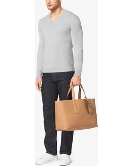 Mason Reversible Leather Tote