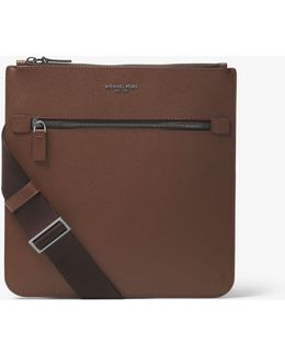 Harrison Small Leather Messenger