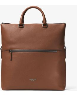 Bryant Leather Fold-over Tote