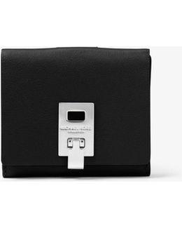 Miranda French Calf Flap Wallet