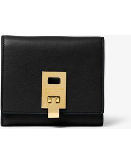 Miranda French Calf Leather Wallet