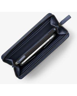 Harrison Leather Zip-around Wallet