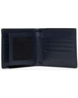 Harrison Leather Id Billfold Wallet